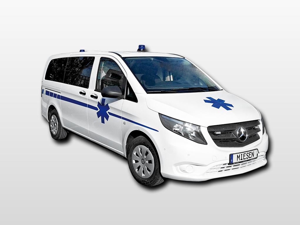 AMBULANCE MERCEDES VITO