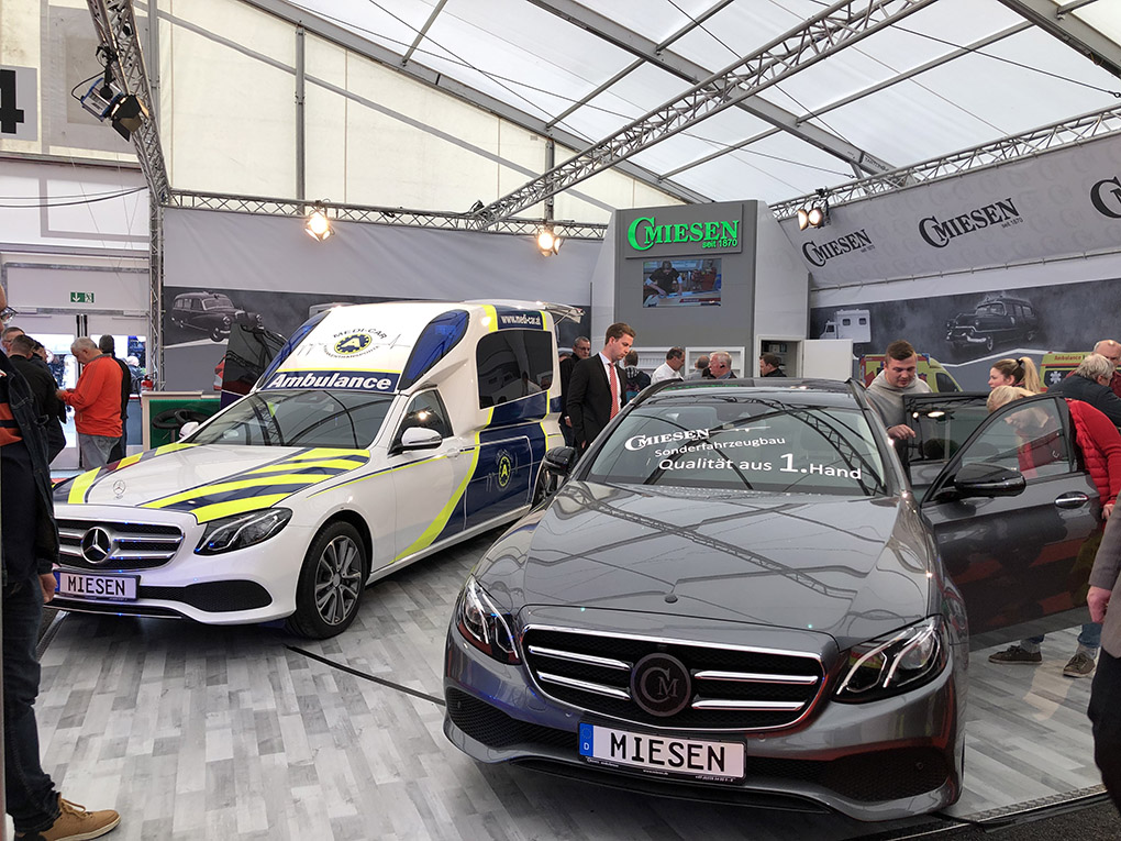 Photo du salon Rettmobil en Allemagne